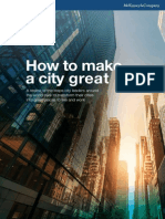 How to Make a City Great