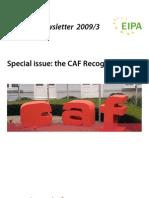 Newsletter 3 CAF (2009)