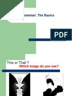 Grammar - The Basics
