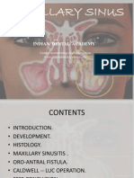 Maxillary Sinus / orthodontic courses by Indian dental academy