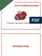 Introduction Pumps
