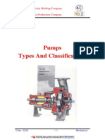 Pumps Types and Classifications