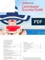 Shutterstock Contribuitor Success Guide