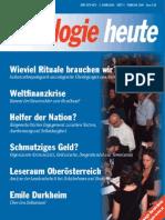 SOZIOLOGIEHEUTE Februarausgabe2009 Scribd