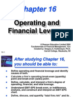 Leverage - Operating & FInancial