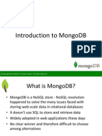 SpringPeople Introduction to MongoDB