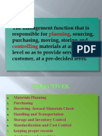 The Management Function That is Responsible for Planning, Sourcing, Purchasing,