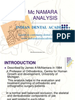 McNamara Analysis / orthodontic courses by Indian dental academy