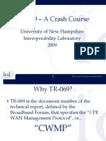 TR-069 Crash Course