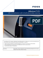 MilkoScan FT1 Solution Brochure GB PDF