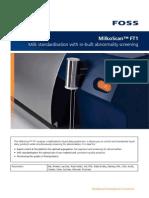 MilkoScan FT1 Solution Brochure GB PDF