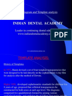 Mesh Diagram and Template Analysis / orthodontic courses by Indian dental academy