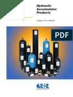 Hydraulic Accumulator Products HY10-1630
