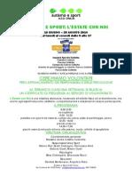 Autismo e Sport l'Estate Con Volontari.circ7