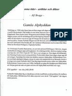 """Alphyddan artikel ur """"Billingen längesen"""" av Verna Andersson och Alf Brage"""