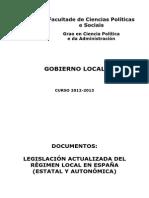 DC02-Documentacion de Consulta-Legislacion Sobre El Gobierno Local