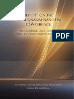 Qasim Nanotwi Conference Report