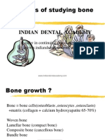Methods of Study Bone Growth / orthodontic courses by Indian dental academy