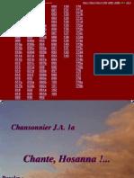 Chansonnier JA 001-179