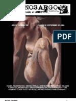 Revista Cinosargo  número XVI septiembre del 2009.