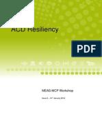ACD Resiliency Workshop (MEAS-MCP)