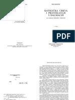 15465505 Mile Bogovic Katolicka Crkva i Pravoslavlje u Dalmaciji