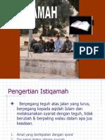 ISTIQAMAH