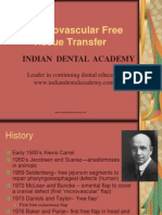 Microvascular Free Tissue Transfer / orthodontic courses by Indian dental academy