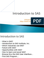 SAS Slides 1