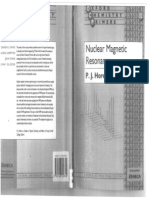 Nuclear Magnetic Resonance - P.J. Hore