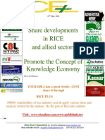 19th May,2014 Daily Global & Exclusive ORYZA E-Newsletter by Riceplus Magazine