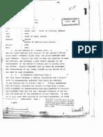 Declassified FOIA-Document