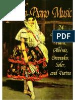 Spanish Piano Music - 24 Works