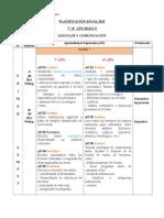 Plan Anual - AE Por Semestre y Unidad 7-8 Lenguaje