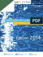 Annuaire CERGAM Edition 20142