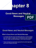 Chapter 8,Good-News and Neutral Messages