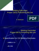 Welding Electrode Usage