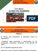 Lección No. 1 - Nuevo Curso Básico de La Defensa Civil Colombiana 2014