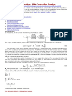 Introduction to Tunning Pid