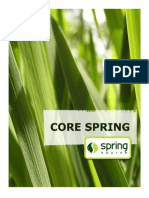 Core Spring 2.0.1.RELEASE Student Handout