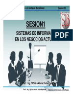 Sesion01 Sistemas de Informacion en Las Empresas