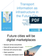 ODI Futures - Transport information as infrastructure in the Future City by Jonathan Raper