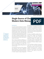Single Source of Clean Data