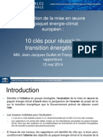 Energie Climat Synthese Rapport