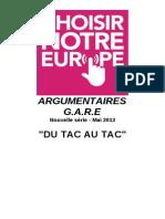 ARGUMENTAIRES TAC AU TAC.doc