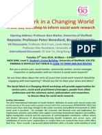 Social Work in a Changing World June 17th
