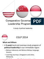 Comparative Governance and Leadership Program 2014 Brief