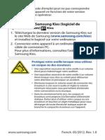Samsung Galaxy s3 Francais
