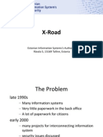 x Road Overview