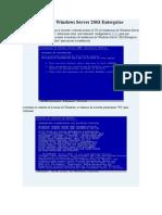 Instalar Windows Server 2003 Enterprise.doc